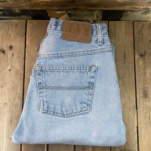 Vintage Express Blues High Waisted Bootcut Jeans